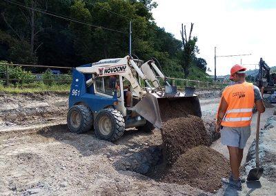 Výstavba a rekonstrukce kanalizačních sítí a domovních přípojek Svitil Plus sro6 - SVÍTIL PLUS s.r.o.